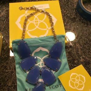 Kendra Scott Periwinkle Harlow Necklace